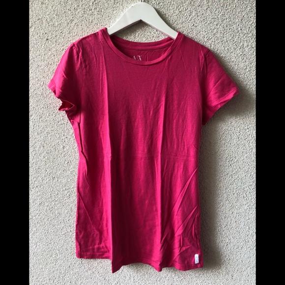 f135f200f Armani Exchange Tops - 🌊 Armani Exchange pink T-shirt M